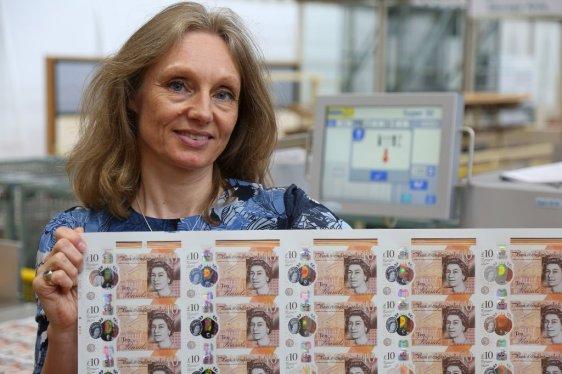 Victoria Cleland BoE Chief Cashier 02